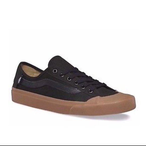 84f9e2c6c0 Vans Black Ball SF Black Gum Skate Shoes